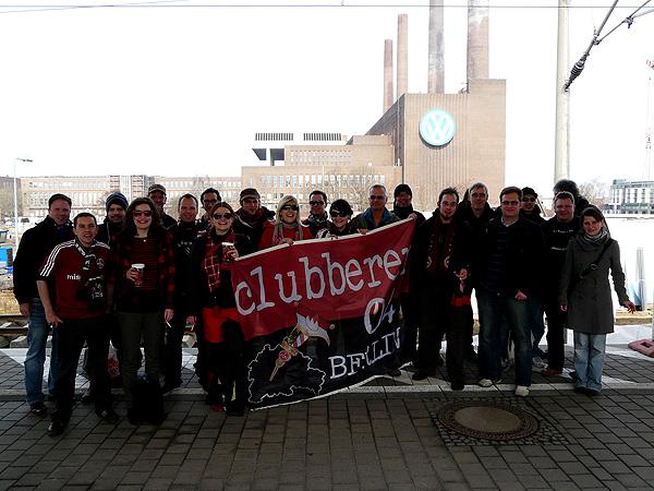 Heimspiel in Wolfsburg