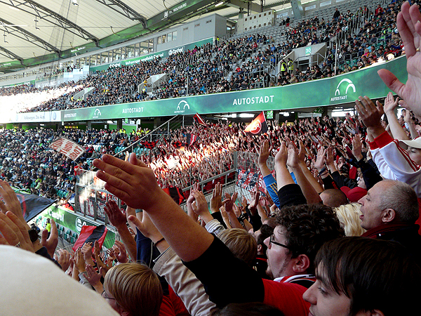 Die Clubberer 04 in Wolfsburg