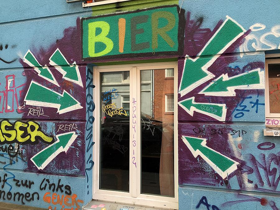 Helles heiteres Hamburg