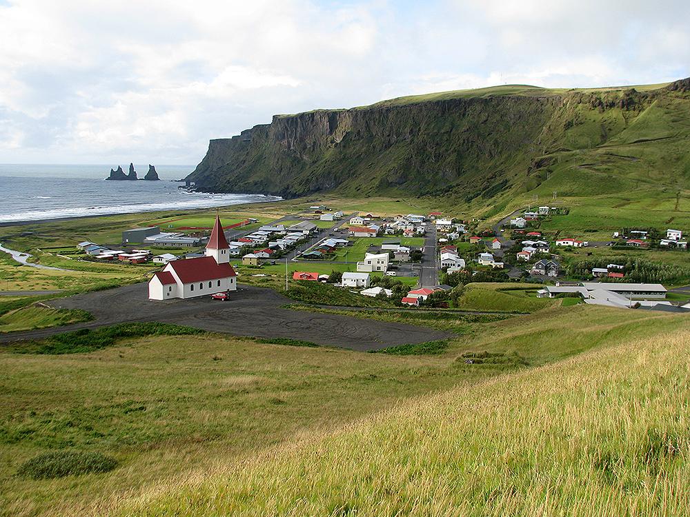 Island auf dem Weg