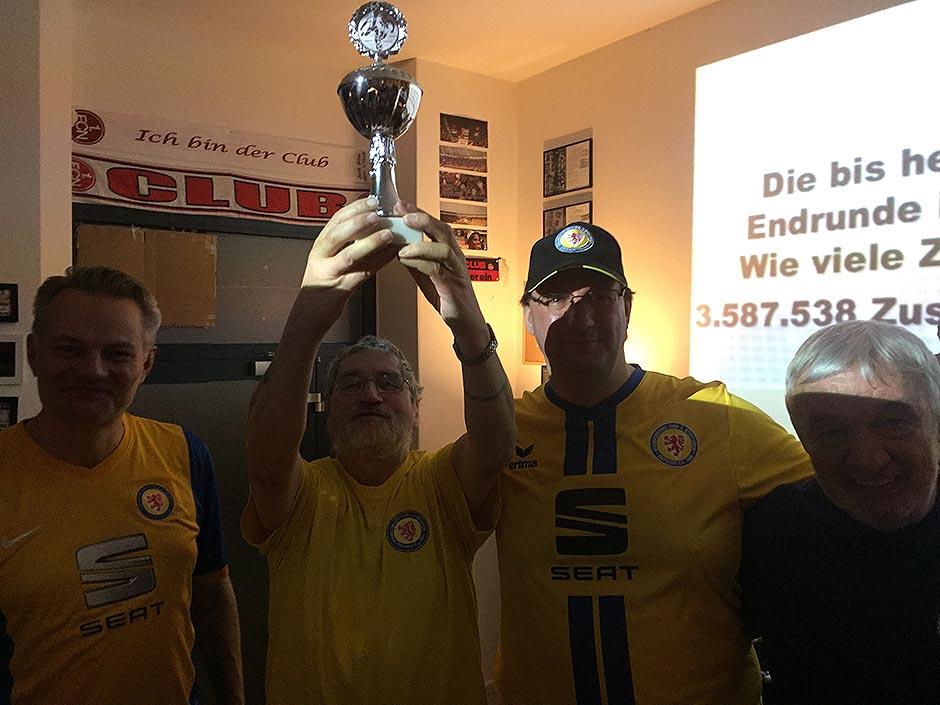 Die Berliner Löwen jubeln